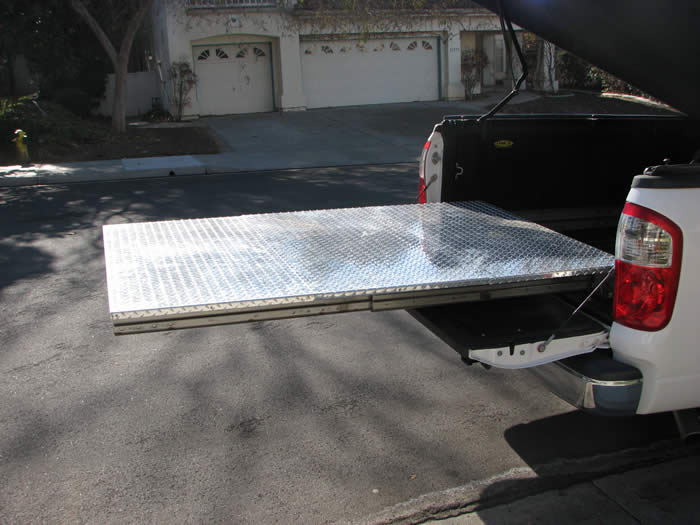 Truck Bed Slide for Pickup Truck